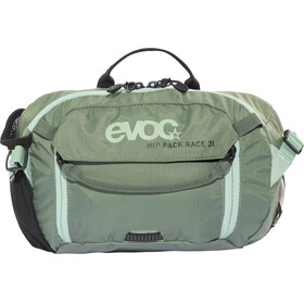 Evoc Hip Pack Race Backpack 3 L + Hydration Bladder 1,5 L olive-light petrol